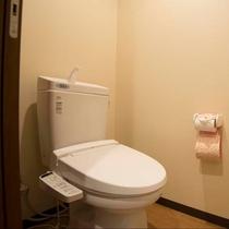▼【和室22.5畳(一例)】バストイレがセパレート。トイレは温水便座付です