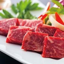 【夕食一例】A5特選和牛ミニステーキ