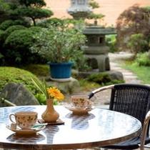 庭園テラス喫茶