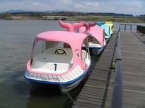 足こぎボート