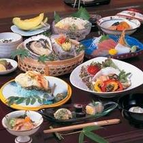 的矢かき夏牡蠣料理