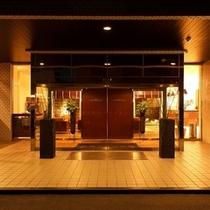 【エントランス】ようこそビジネスホテルマツカへ
