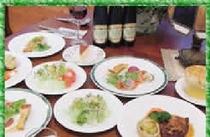 夕食のフルコース