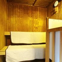 各浴場サウナ室を併用しております。疲れをリフレッシュ♪