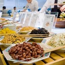【しっかり朝ごはん】穀物・野菜などこだわりの朝食バイキング★