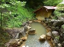 渓谷露天風呂(混浴)