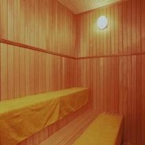 温泉大浴場のサウナ