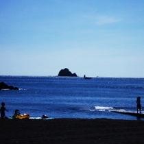 海水浴場オレンジビーチ(ハトヤよりお車で7分)