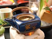 「松茸の土瓶蒸し」