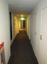 床暖フロア 廊下