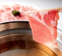 【フィレンツェ】≪9月ディナー限定≫鹿児島黒豚肉のしゃぶしゃぶ