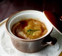 【フィレンツェ】オニオングラタンスープ