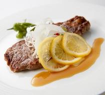 【フィレンツェ】≪8月ディナー限定≫佐世保名物 牛肉のレモンステーキ