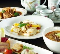 【四川】コース料理一例