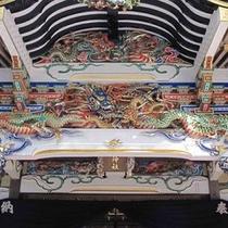 【宝登山神社・彫刻】
