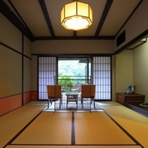 【部屋】露天風呂付き客室