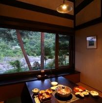 【館内】囲炉里庵花水木・個室食事処