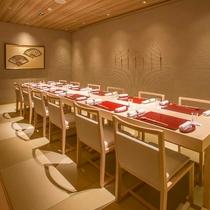 日本料理「錦」琴の間
