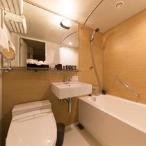 スタンダードダブルのバスルーム
