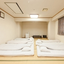 和室グループ・ファミリータイプ (バス、トイレ別)(チェックイン時、お布団はセッティング済)