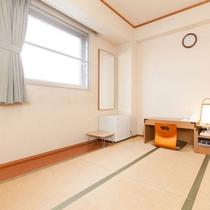 シングル和室(広さ 6畳+広縁)