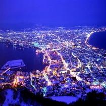 函館山夜景【冬】