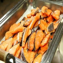 朝食焼き鮭