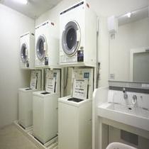 コインランドリー(C館1F)洗剤は自動投入されます。
