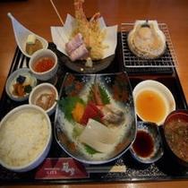 雅家夕食3000円コース(フロントにて夕食券を販売しております)