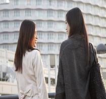 女性の二人旅