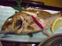 鯛の焼き魚