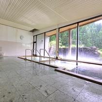 """*新館大浴場/泉質は無色透明の単純泉。開放感のある""""露天風呂""""や""""打たせ湯""""もございます。"""