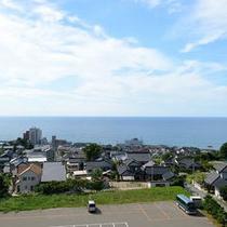 きれいでしょ!日本海!!
