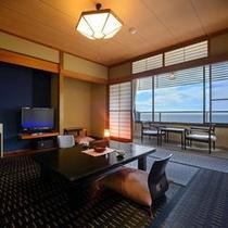 【505号室】 こちらも日本海が一望できます♪今日は、夕日が見えるかな?