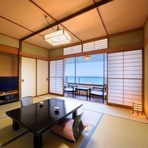 オーシャンビュー♪ 日本海きれいだな~