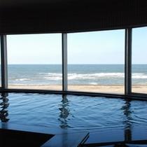 大浴場♪大洗の海が一望できます