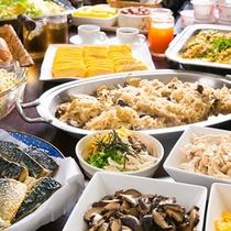 【朝食バイキング】一例