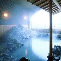 大浴場:和風半露天風呂