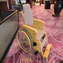 天道木工製木製車椅子