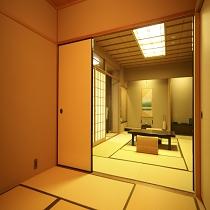 リニュアルオ-プンした上級露天風呂付き客室です
