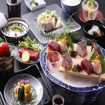 ◆食事と温泉が満喫できる◆!!夕食と展望金泉貸切露天風呂付きプラン♪