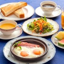 【朝食一例‐洋食‐】