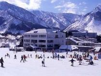 新潟県 湯沢中里スキー場 ゲレンデ