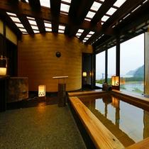 【温泉】貸切露天「富士のゆき」