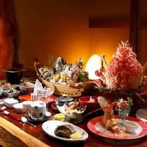 【料理】高足ガニ祭りプラン(季節により内容が異なります)