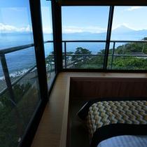 「藍の詩」特別室からの眺望