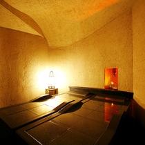 貸切露天風呂「富士のゆき」 岩盤浴
