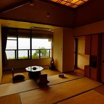 【部屋】特別室フロア「あかねの詩」 2つの展望風呂付特別室