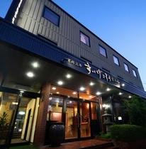 平24夏撮影 ちいさな町のちいさなお宿、旅館風ホテルです
