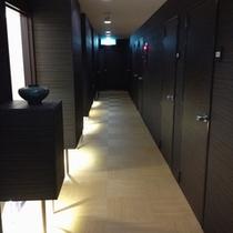 2013春リノヴェーション、モダンジャポニズムを意識した廊下